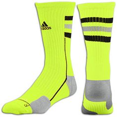 adidas Team Speed Crew Sock - electricity/black