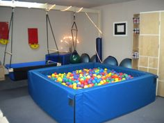 Sensory Spaces, I wish I could afford to make a room like one of these in my house!