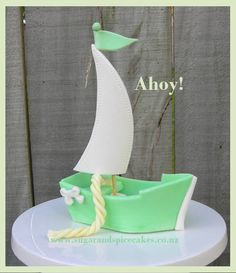 Fondant Boat and Pirate ship cake topper tutorial - TUTORIAL in .pdf This tutorial comes in step by step photos and text. Learn how to create