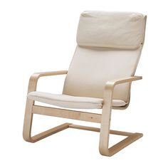 the chair I use for feeding the baby.  It is so perfect and comfy.  Also nice how light it is so I can move it easily from room to room.  So glad I didn't spend a ton of money on one made for feeding.