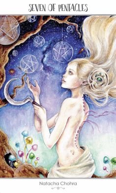 Card of the Day – 7 of Pentacles – Friday, July 6, 2018 « Tarot by Cecelia
