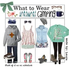 What To Wear Camping By The Tip Geek On Polyvore