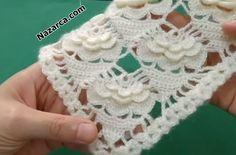 Poncho Crochet, Crochet Motif, Crochet Lace, Baby Knitting Patterns, Crochet Patterns, Crochet Tablecloth, Needle Lace, Fingerless Gloves, Arm Warmers