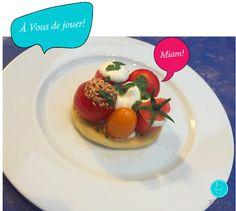 Fil &Croq - Farandole de tomates - recette chic