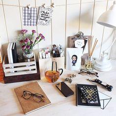 Desk Top Decor #WorkSpace #Office