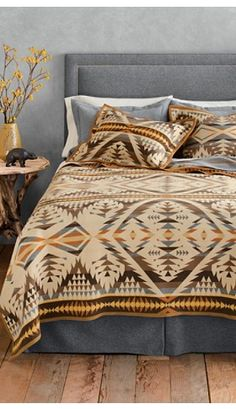 Stop by Black Forest Decor today to explore our exceptional inventory of luxury cabin bedding, like this Diamond Desert Bedding Collection! Decor, Western Bedding, Home Collections, Home, Home Bedroom, Desert Bedding, Bedroom Inspirations, Bed, Bedding Sets