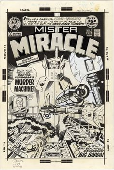 Mister Miracle, Issue 5, Cover