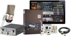 Universal Audio 710 Twin-Finity TLM 102 Bundle