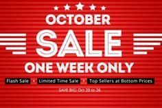 October Sale: una settimana di offerte imperdibili - http://www.tecnoandroid.it/october-sale-settimana-offerte-677/ - Tecnologia - Android
