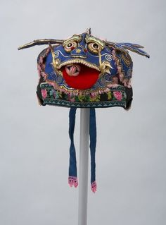 Chinese Children's Festival Hat~Image © Textile Museum of Canada