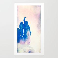 Angel Art Print by Angelandspot - $14.56