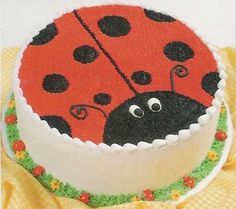 Yoghurt cake with Companion - HQ Recipes Cake Icing, Buttercream Cake, Cupcake Cakes, Spring Cake, Summer Cakes, Easy Cake Decorating, Cake Decorating Techniques, Fancy Cakes, Cute Cakes