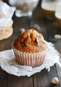 magdalena with chocolate chips Cupcakes, Cupcake Cookies, Chocolate Caliente, Healthy Sweets, Sin Gluten, Food Photography, Food And Drink, Baking, Desserts