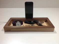 Docking Station and Catch-All Organizer for All Phones- ThePort by Wudzeedotcom on Etsy https://www.etsy.com/listing/204542244/docking-station-and-catch-all-organizer