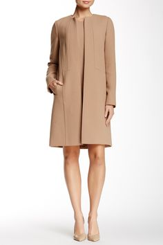 Soraya Wool Coat by Lafayette 148 on @HauteLook