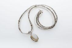 Halskette von PERLAPRINCIPESSA Necklaces, Personalized Items, Neck Chain, Chain, Wedding Necklaces