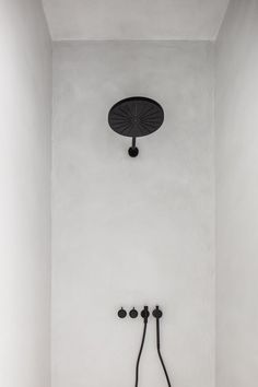 Shower in beton ciré finish and VOLA taps - Lilly is Love Bad Inspiration, Bathroom Inspiration, Interior Inspiration, Bathroom Inspo, Apartment Plants, Apartment Entryway, Apartment Decorating For Couples, Small Living Room Layout, Bad Set