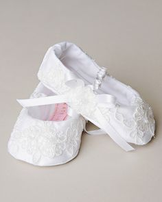 Baby Boy Girl White Shoes Soft Cozy Modest Christening Church Baptism Sneaker