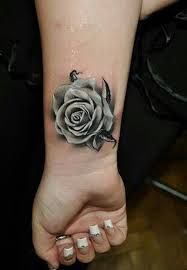 In this post we are going to present 50 Beautiful Rose Tattoo Designs for Girls. These rose tattoo designs are really beautiful and awesome. Black And Grey Rose Tattoo, White Rose Tattoos, Rose Tattoos On Wrist, Body Art Tattoos, Flower Tattoos, Tatoos, Tattoo Black, Black Rose Tattoo Coverup, 3d Tattoos