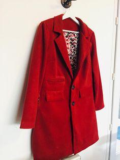 Manteau veste Magnésium de Ivanne S : le premier jet... | La couseuse de trucs Tweed, Magnesium, Couture, Jet, Blazer, Blog, Jackets, Crafts, Women