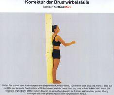 Korrektur der Brustwirbelsäule nach der Methode Dorn