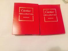 Cartier Declaration Essence Men Cologne Spray 1.5 ml New (2 Sample ) - Men