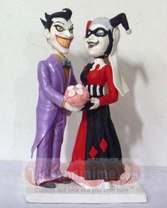 Harley & Joker Cake Topper