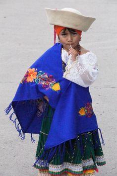 The Children's Christmas Parade in Cuenca, Ecuador 24 Dec. 2012