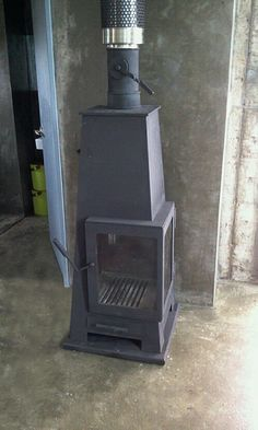Woodstove_01 / design & made by gongplus+