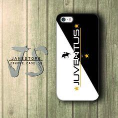 Juventus 1987 Logo Black and White iPhone Case 4 5 6 Plus Hardcase
