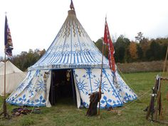 Fifteenth century medieval camp pavilion | Flickr - Photo Sharing!