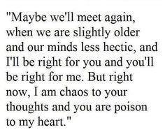 I am chaos.