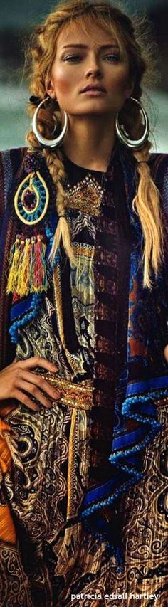 Boho chic bohemian style bohème vibe gypsy fashion