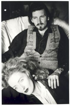 Dead Can Dance: Lisa Gerrard (voice of the Goddess) and Brendan Perry