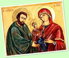Este Ícono se encuentra en Séforis, el lugar donde nació Santa Ana, la mamá de la Virgen María.