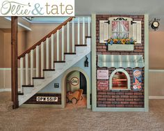 Under The Stairs Playhouse, Kids Playhouse, Indoor Playhouse, Pretend ...