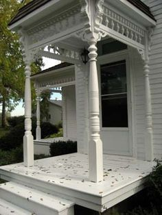 Image result for tiny victorian porch