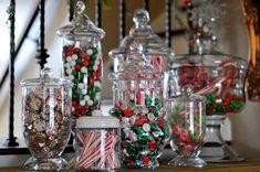 Frascos de boticario o ánforas para mesas dulces este 24 y 31 de diciembre. #PostresNavidad