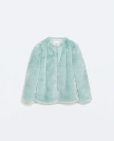 Image 6 of COLORED FUR COAT from Zara