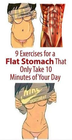 9 Exercises for a Flat Stomach That Only Take 10 Minutes of Your Day (Video)