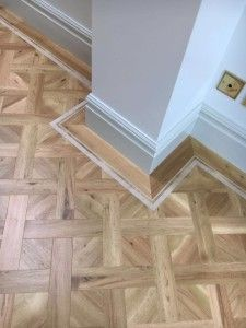 Amtico Fresh Oak in Basket Weave Design Amtico Flooring Kitchen, Hallway Flooring, Parquet Flooring, Vinyl Flooring, Flooring Ideas, Quickstep Laminate, Mdf Skirting, Hall And Living Room, Interior Design London