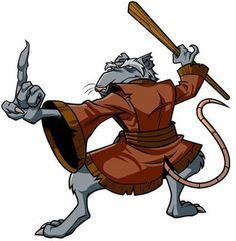 Master Splinter in Teenage Ninja Hero Turtles #sage #archetype #brandpersonality