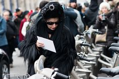 Diane Pernet of A Shaded View on Fashion