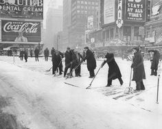 Original vintage old photos reproduced into contemporary prints. All photographs are chemically processed in photo labs and in great condition. Shoveling Snow New York 1933 Vintage 8x10 Reprint Of Old