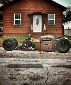 Rat Rod Trucks - Page 7 - Undead Sleds - Hot Rods, Rat Rods, Beaters & Bikes. Rat Rod Cars, Hot Rod Trucks, Cool Trucks, Dually Trucks, Semi Trucks, Big Trucks, Dodge Trucks, Custom Rat Rods, Custom Cars