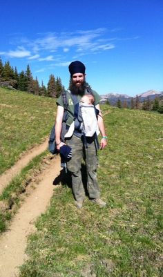 Sumer Travel Series:  Father & Son High Altitude Adventure #babywearing #travel