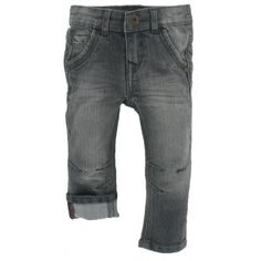 Noppies baby - Jeans Boy grijs
