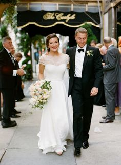 Of course Jamie Beck had Katie Ermilio custom design her dress and veil. Sigh. [Ann Street Studio]