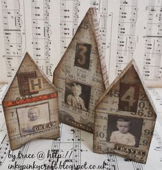 Well I have been indulging in a little me playtime...more wooden houses and this time very Tim Holtz inspired... you know me well enough t...
