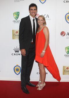 Mitch Starc and Alyssa Healy
